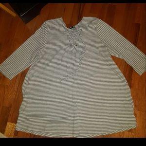 Hannah tunic shirt size XL